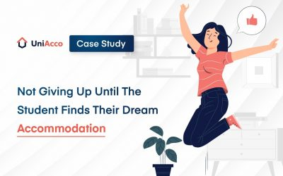 Case Study – Not Giving Up Until The Student Finds Their Dream Accommodation