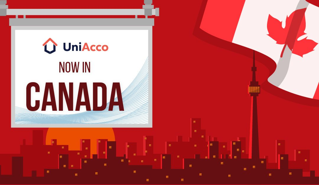 We've Got News! UniAcco Is Now In Canada!