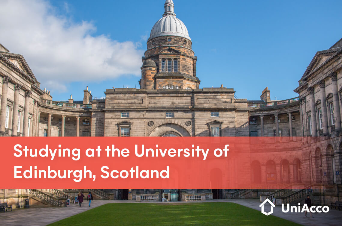 Studying at the University of Edinburgh, Scotland