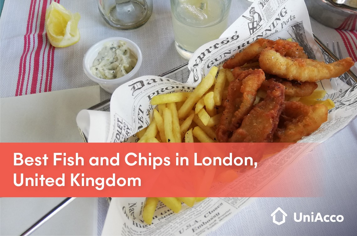 Best Fish and Chips in London, United Kingdom
