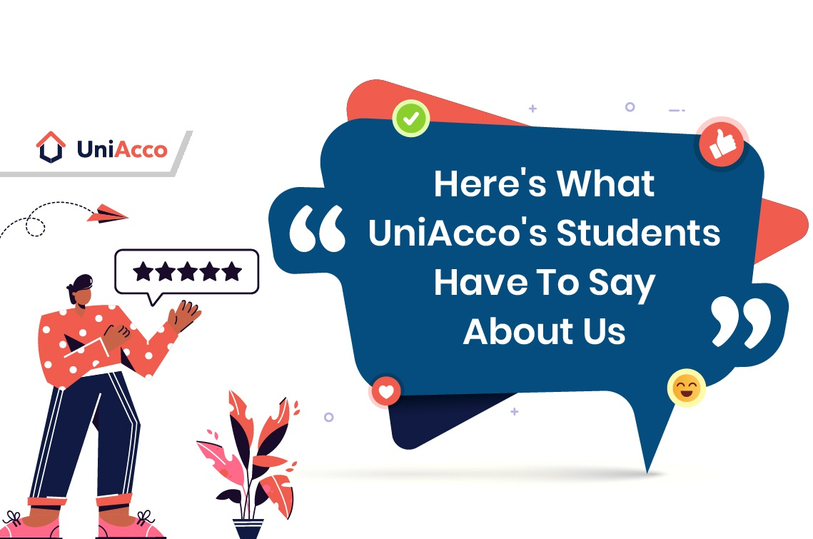 Here's What UniAcco's Students Have To Say About Us